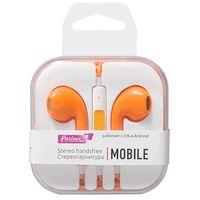 Наушники Partner Mobile (оранжевые)