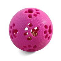 """Игрушка для собак с колокольчиком """"Мяч-лапки"""" (7 см)"""