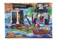 """Конструктор """"Пираты. Форт"""" (120 деталей)"""