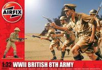 "Набор миниатюр ""Британская 8-я армия (Африка)"" (масштаб: 1/32)"