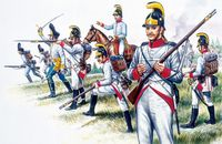 "Набор миниатюр ""Австрийская пехота"" (масштаб: 1/72)"