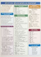 Шпаргалка 2 для детей и их родителей. Английский язык