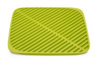 "Коврик для сушки посуды ""Flume"" (зеленый; 31,5х31,5х1 см)"
