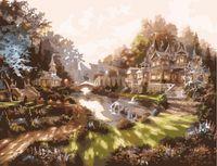 "Картина по номерам ""Утром в волшебном городе"" (500x650 мм; арт. MMC040)"