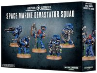 Warhammer 40.000. Space Marines. Devastators (48-15)