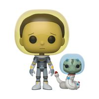 """Фигурка """"Rick and Morty. Space Suit Morty with Snake"""""""