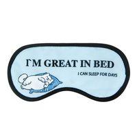 "Маска для сна ""Great in bed"""