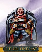 "Миниатюра ""Warhammer 40.000. Finecast: Astra Militarum Lord Castellan Creed"" (47-60)"
