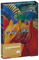 """Записная книжка Paperblanks """"Дикие огненные лошади"""" в линейку (формат: 130*180 мм, средний)"""