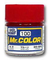 Краска Mr. Color (wine red, C100)