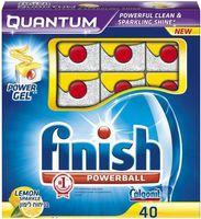 """Таблетки для посудомоечных машин FINISH Quantum """"Лимон"""" (40 шт)"""