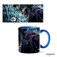 """Кружка """"Джокер из вселенной DC"""" (420, голубая)"""