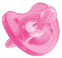 """Пустышка силиконовая ортодонтическая """"Physio Soft"""" (розовая; арт. 00002712110000)"""