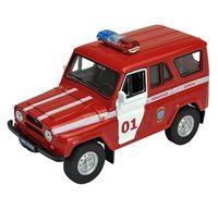 """Модель машины """"УАЗ 31514. Пожарная охрана"""" (масштаб: 1/34-39)"""