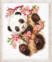 """Вышивка крестом """"Панда"""" (150x180 мм)"""