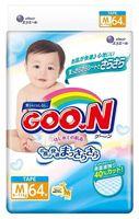 """Подгузники """"Goo.N"""" (6-11 кг; 64 шт.)"""