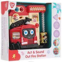 """Развивающая игрушка """"Пожарная станция"""" (со световыми эффектами)"""