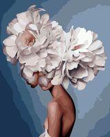 """Картина по номерам """"Мифология женский красоты. Душа"""" (400х500 мм)"""