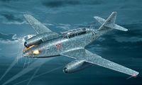 "Истребитель ""Messerschmitt Me 262 B-1a /U1"" (масштаб: 1/48)"
