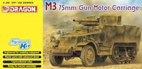 "САУ ""M3 75mm Gun Motor Carriage"" (масштаб: 1/35)"
