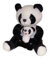 """Мягкая игрушка """"Панда с малышом"""" (42 см)"""