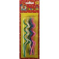 """Набор свечей для торта """"Спираль"""" (12шт.; арт. С-1240)"""