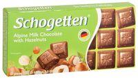 """Шоколад молочный """"Schogetten. С фундуком"""" (100 г)"""