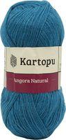 "Пряжа ""KARTOPU. Angora Natural №K1467"" (100 г; 530 м; темно-голубой)"