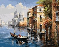 "Картина по номерам ""По Венецианским каналам"" (400х500 мм)"