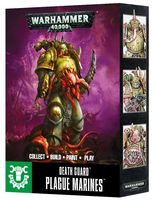 Warhammer 40.000. Death Guard. Plague Marines. Easy to Build (43-30)