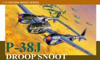 """Истребитель P-38J Droop Snoot"""" (масштаб: 1/72)"""