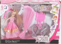 """Игровой набор """"Кукла с лошадью"""""""