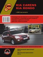 Kia Carens / Kia Rondo c 2006 г. Руководство по ремонту и эксплуатации