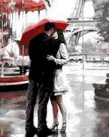 "Картина по номерам ""Париж. Любовь."" (400x500 мм; арт. MG7620)"