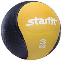 Медбол Pro GB-702 (3 кг; жёлтый)