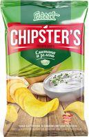 """Чипсы картофельные """"Chipster's. Сметана и зелень"""" (70 г)"""