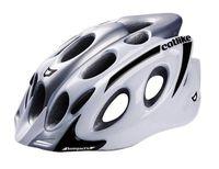 """Шлем велосипедный """"Kompakt'o"""" (M; бело-серый)"""