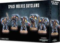 "Набор миниатюр ""Warhammer 40.000. Space Wolves Skyclaws"" (53-14)"