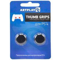 PS 4 Накладки Artplays Thumb Grips защитные на джойстики геймпада (2 шт) черные