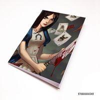 "Блокнот белый ""Алиса"" А7 (арт. 349)"