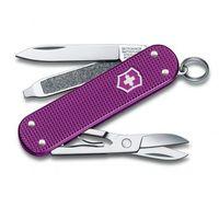 """Нож перочинный Victorinox """"Alox Classic"""" фиолетовый (5 функций)"""