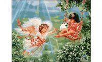 "Картина по номерам ""Ангел"" (400x500 мм)"