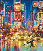 "Картина по номерам ""Огни Нью-Йорка"" (400х500 мм)"
