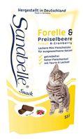 """Лакомство для кошек """"Cat Sticks"""" (55 г; форель и клюква)"""