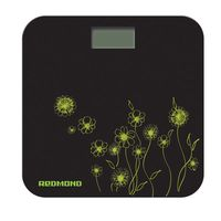 Напольные весы Redmond RS-715 (цветы зеленые)