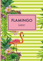 "Блокнот ""Mindfulness. Фламинго"" (А5; зелёные полоски)"