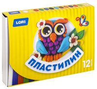 "Пластилин ""Детский"" (12 цветов; арт. Пл-017)"