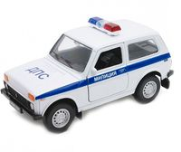 "Модель машины ""Lada. ДПС"" (масштаб: 1/34-39)"