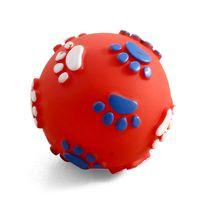 """Игрушка для собак с пищалкой """"Мяч с лапками"""" (6 см)"""