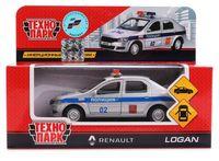 """Модель машины """"Renault Logan. Полиция"""" (арт. LOGAN-P)"""